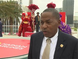 Clark County Commissioner Lawrence Weekly Celebrates New Direct Flight from Beijing to Las Vegas