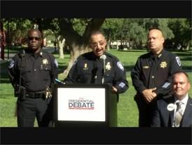 Las Vegas Makes Security Preparations for the Presidential Debate