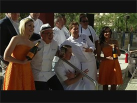 Chefs speak at Picnic in The Park