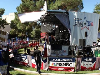 UNLV Campus Comes Alive with the Last Presidential Debate