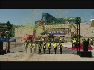 MGM Conference Center Groundbreaking