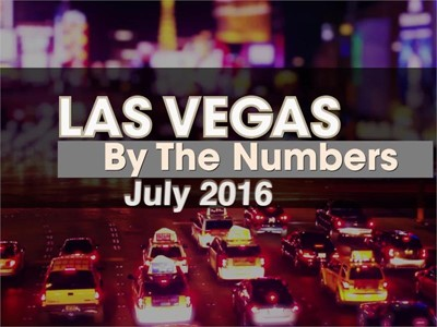 Las Vegas By The Numbers: July 2016 Brings Record-Breaking Visitors