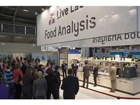 Live Lab Food Analysis at analytica 2016