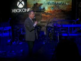"Countdown to midnight launch of ""Titanfall"" and celebration"