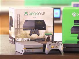 "Xbox One Limited Edition ""Call of Duty: Advanced Warfare"" Bundle B-roll"
