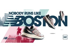 "NEW BALANCE UPDATES ""NOBODY RUNS LIKE BOSTON."" CAMPAIGN"
