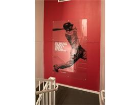 New Balance Global Headquarters Internal Staircase Dustin Pedroia
