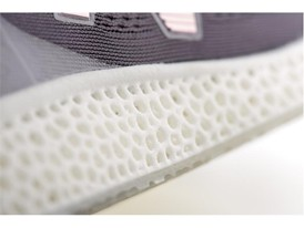 New Balance Zante Generate Shot in Studio - 3D Printed Midsole Detail Shot