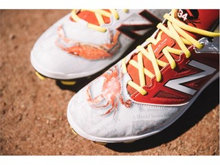 Ortiz Walk Off Baltimore Cleat