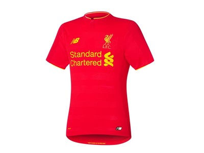 New Balance Reveals Liverpool FC 2016/17 Home Kit - Short Sleeve