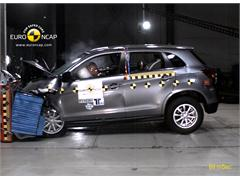 Mitsubishi ASX - Crash Tests 2011