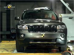 Jeep Grand Cherokee - Crash Test 2011