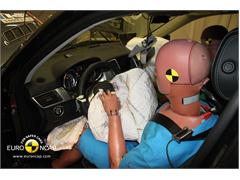 Mercedes M Class - Crash Test 2012 Recalculation