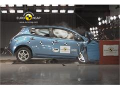 Nissan Leaf- Crash Test 2012 Recalculation