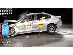 BMW 3 Series  - Crash Test 2012