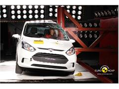 Ford B MAX - Crash Test 2012