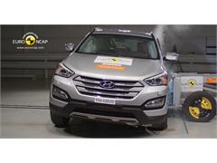 Hyundai Santa Fe - Crash Test 2012