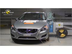 Volvo V60 Plug-In Hybrid - Crash Test 2012