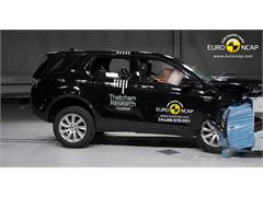 Land Rover Discovery Sport  - Euro NCAP Results 2014