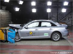 Audi A4- Euro NCAP Results 2015