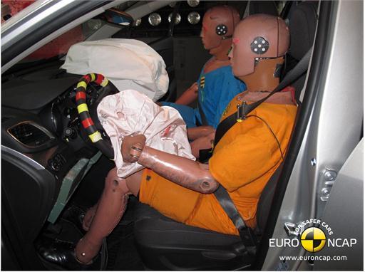 Opel Mokka Frontal crash 2012 – Driver