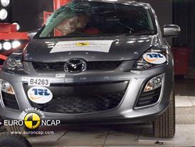 Mazda CX-7 - Pole crash test