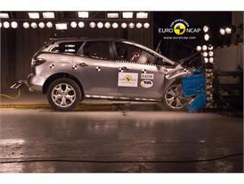 Mazda CX-7 - Frontal crash test