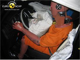 Kia Venga – Driver crash test