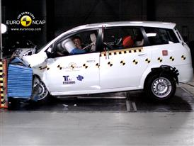 Landwind CV9  – Front crash test
