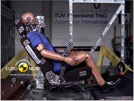 Mitsubishi ASX – Whiplash crash test