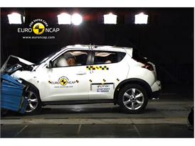 NISSAN Juke – Front crash test