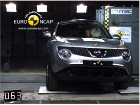 NISSAN Juke – Pole crash test