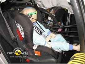 Lexus CT200h – Child Rear Seat crash test