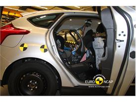 Ford Focus – Child Rear Seat crash test