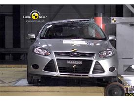Ford Focus  – Pole crash test