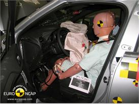 Citroen DS4 – Driver crash test