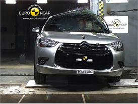 Citroen DS4 – Pole crash test