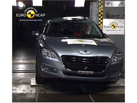 Peugeot 508– Pole crash test