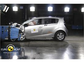 CHEVROLET Aveo – Front crash test