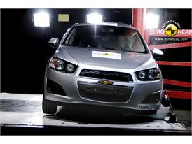 CHEVROLET Aveo – Pole crash test