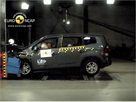 CHEVROLET Orlando – Front crash test