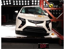 OPEL Ampera – Pole crash test