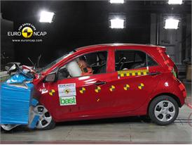 KIA Picanto – Front crash test