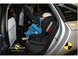 AUDI A6 – Child Rear Seat crash test