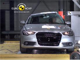 AUDI A6 – Pole crash test
