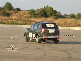 Chevrolet Captiva – ESC test