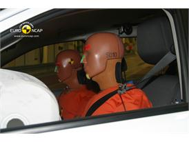 Ford Ranger – Driver crash test
