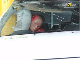 Ford Ranger – Pole crash test