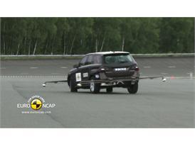 Mercedes M-Class – ESC test