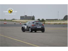 OPEL Vauxhall Astra GTC  – ESC test
